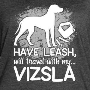 VIZSLA TRAVEL LEASH SHIRT - Women's Vintage Sport T-Shirt