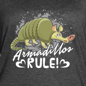 ARMADILLOS RULE SHIRT - Women's Vintage Sport T-Shirt