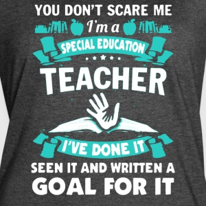 I'M A SPECIAL EDUCATION TEACHER SHIRT - Women's Vintage Sport T-Shirt
