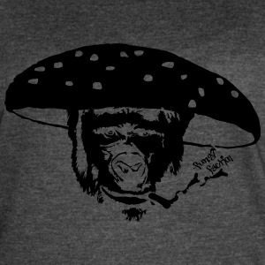 Smokin' Monkey Mushroom - Fungi Faction - Women's Vintage Sport T-Shirt