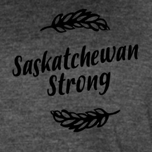 Saskatchewan Strong - Women's Vintage Sport T-Shirt