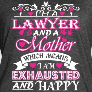 Lawyer Mother Which Means Exhausted & Happy - Women's Vintage Sport T-Shirt
