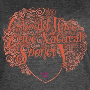 Natural Hair Equals Natural Beauty - Women's Vintage Sport T-Shirt