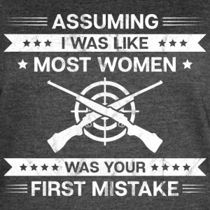Shooting Range/Shooting Sport/Girls/Women/Rifle - Women's Vintage Sport T-Shirt