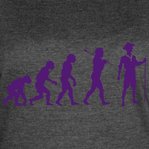 The scout Evolution - Women's Vintage Sport T-Shirt