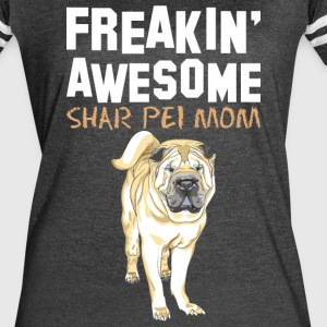 Freaking Awesome Beagle Mom - Women's Vintage Sport T-Shirt