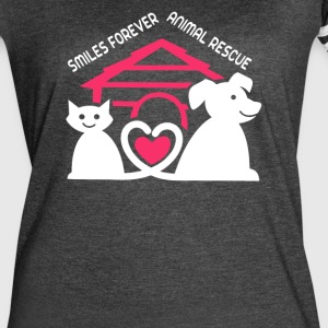 Smiles Forever Animal Rescue - Women's Vintage Sport T-Shirt