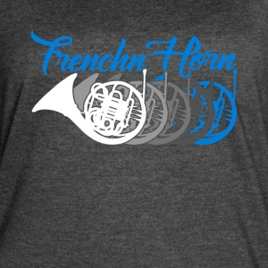French Horn Shirt - Women's Vintage Sport T-Shirt