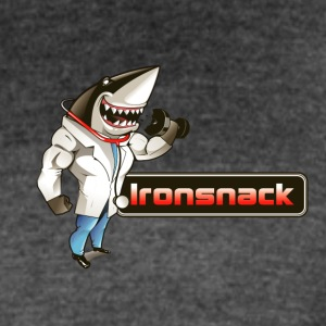 Ironsnack Full Shark Logo - Women's Vintage Sport T-Shirt