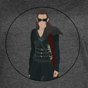 Lexa From The 100 - Women's Vintage Sport T-Shirt