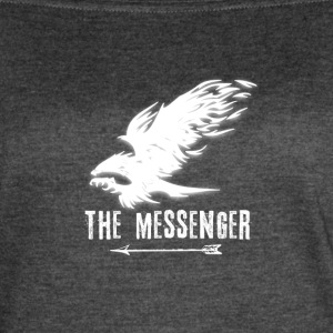 Hawk: The Messenger (White) - Women's Vintage Sport T-Shirt