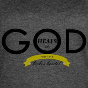 God Heals the Broken Hearted - Women's Vintage Sport T-Shirt