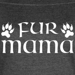 Fur Mama Cat - Women's Vintage Sport T-Shirt