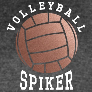 Rose Gold Volleyball Spiker - Women's Vintage Sport T-Shirt