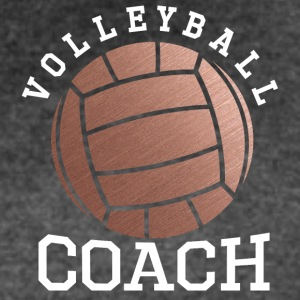 Rose Gold Volleyball Coach - Women's Vintage Sport T-Shirt