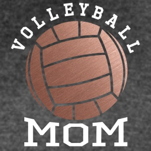 Rose Gold Volleyball Mom - Women's Vintage Sport T-Shirt