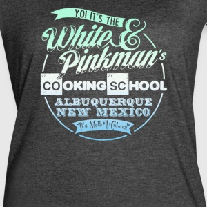 Pinkman's Cooking School - Women's Vintage Sport T-Shirt