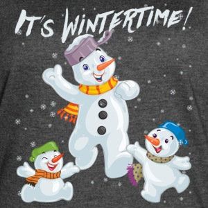 It´s Wintertime - Women's Vintage Sport T-Shirt