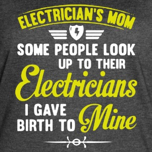 Electrician Mom Shirt - Women's Vintage Sport T-Shirt