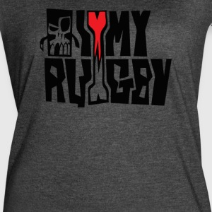 i love my rugby - Women's Vintage Sport T-Shirt