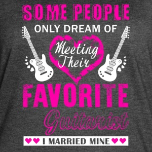 Guitarist Wife Shirt - Women's Vintage Sport T-Shirt