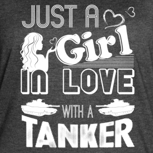 Girl In Love With Tanker Shirt - Women's Vintage Sport T-Shirt