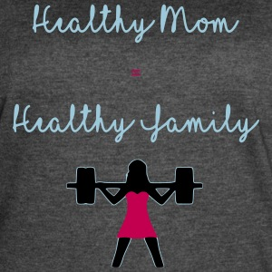 healthy mom - Women's Vintage Sport T-Shirt