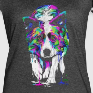 Border Collie Shirt - Women's Vintage Sport T-Shirt