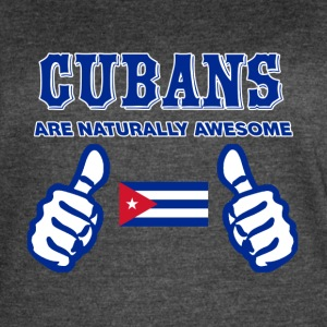 CUBAN design - Women's Vintage Sport T-Shirt