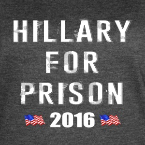 Hillary For Prison 2016 - Women's Vintage Sport T-Shirt