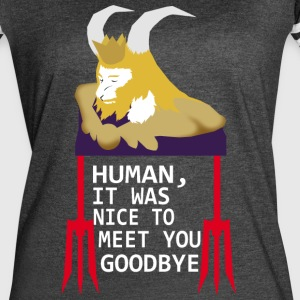 Goodbye human - Women's Vintage Sport T-Shirt