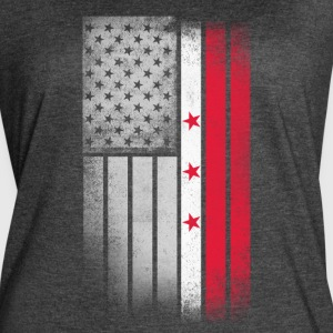 District of Columbia Flag - Women's Vintage Sport T-Shirt