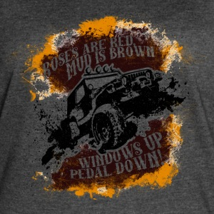 Roses Are Red, Mud Is Brown - Jeep Shirt - Women's Vintage Sport T-Shirt