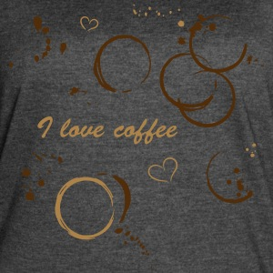 Coffee shirt with coffee stains - Women's Vintage Sport T-Shirt