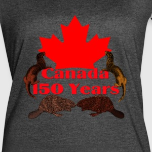 Canada 150 otter and beaver - Women's Vintage Sport T-Shirt