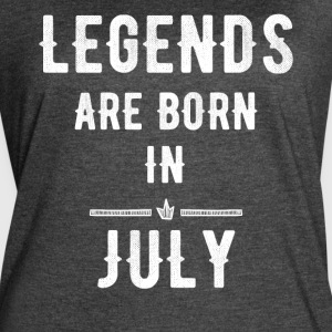 Legends are born in July - Women's Vintage Sport T-Shirt