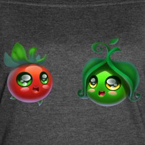 Tomato and peas - Women's Vintage Sport T-Shirt