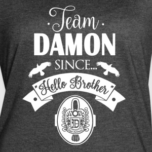 Team Damon Since Hello Brother - Women's Vintage Sport T-Shirt