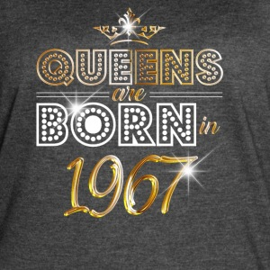 1967 - Birthday - Queen - Gold - EN - Women's Vintage Sport T-Shirt