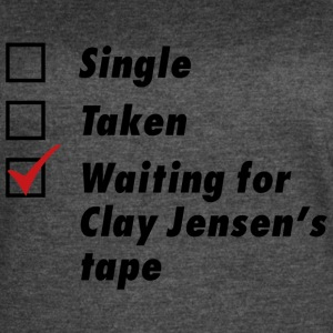 Waiting for Clay Jensen's tape - Women's Vintage Sport T-Shirt
