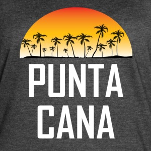 Punta Cana Sunset And Palm Trees Beach - Women's Vintage Sport T-Shirt