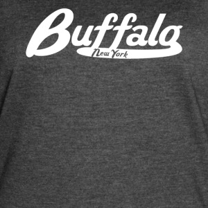Buffalo New York Vintage Logo - Women's Vintage Sport T-Shirt