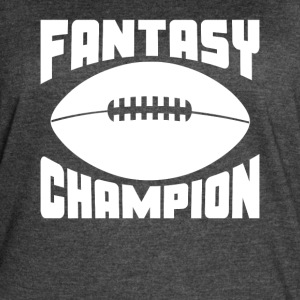 Fantasy Football Champion - Women's Vintage Sport T-Shirt