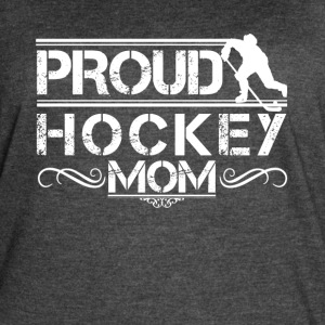 Proud Hockey Mom Shirt - Women's Vintage Sport T-Shirt