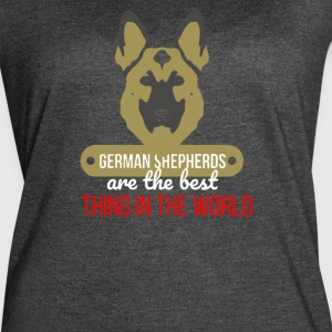 German Shepherds Are The Best Thing In The World - Women's Vintage Sport T-Shirt