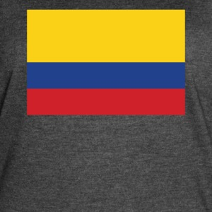 Flag of Colombia Cool Colombian Flag - Women's Vintage Sport T-Shirt