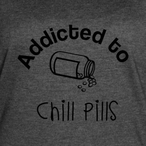Addicted to Chill Pills Mechandise - Women's Vintage Sport T-Shirt