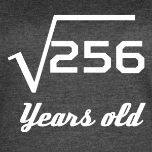 Square Root Of 256 16 Years Old - Women's Vintage Sport T-Shirt