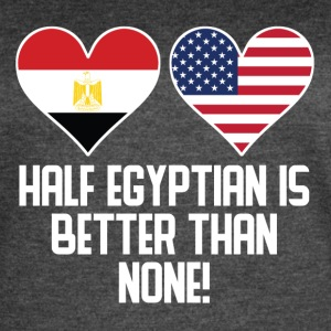 Half Egyptian Is Better Than None - Women's Vintage Sport T-Shirt
