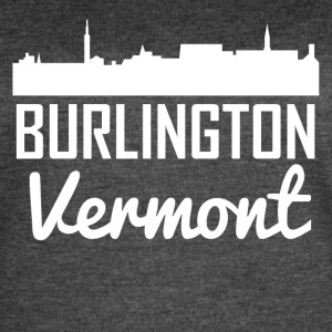 Burlington Vermont Skyline - Women's Vintage Sport T-Shirt